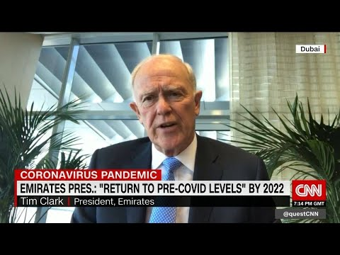 """Emirates Pres.: """"Return to pre-COVID levels"""" by 2022"""