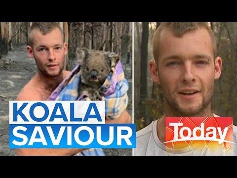 Aussie Stays In Fire Zone To Rescue Injured Koalas: Australia Bushfire Crisis | Today Show Australia