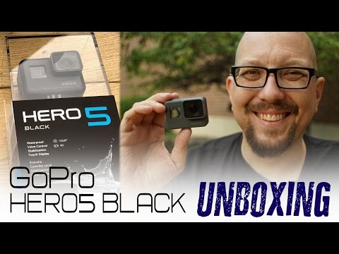 GoPro HERO5 Black Unboxing + New Accessories!