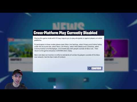How To Completely TURN OFF Crossplay For Fortnite And Every Other Game. (Xbox One)