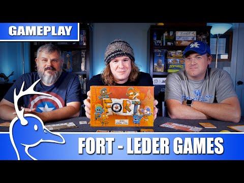 Fort - 3 Player - Leder Games - (Quackalope Gameplay)
