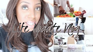 MEAL PREP WITH ME, CLEAN WITH ME & LIFE UPDATE ON SELF EMPLOYMENT