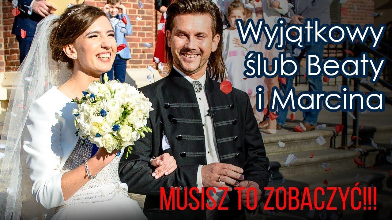 Wyjątkowy ślub Beaty I Marcina Trzeba To Zobaczyć Youtube