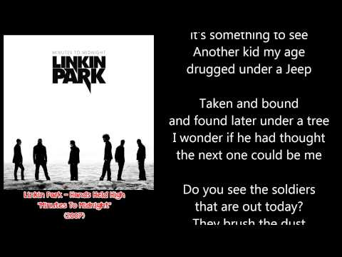Linkin Park - Hands Held High (LYRICS)