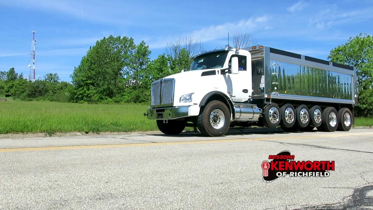 T880 7 Axle Kenworth Dump Truck 205490R SOLD