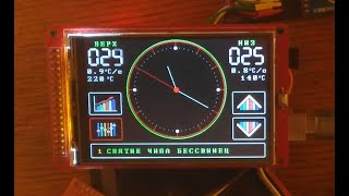 Паяльная станция на Arduino Мега 2560, Часть 2. Интерфейс. Работа с энкодером и сенсором.