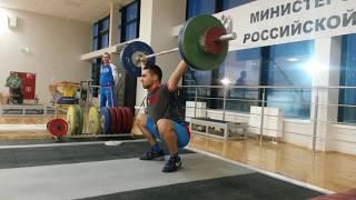 Набор формы после отдыха ( тренировки в сборной РФ )
