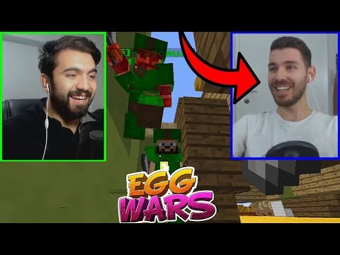 ÇİFT FACECAM ÇİFT OYUN !!! | Minecraft: EGG WARS