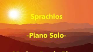Rosenstolz: Sprachlos -Piano Solo-