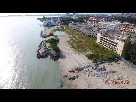 Pulau Melaka Aerial View