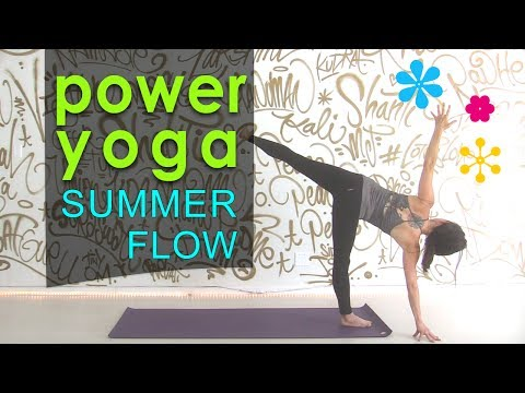 Power Yoga Workout ~ Summertime Cardio Flow