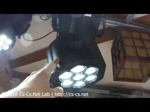 Cs-Cs: Обзор моего домашнего светового оборудования (полный) / My Home Stage Lights