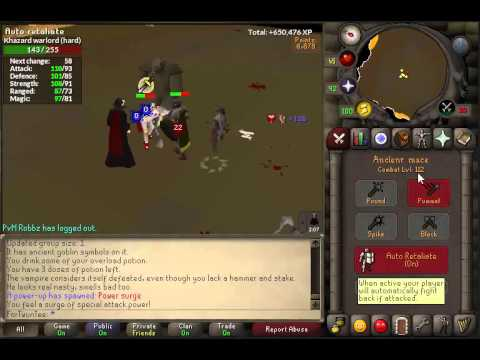 Best Nightmare Zone Method - Oldschool Runescape - OSRS 07