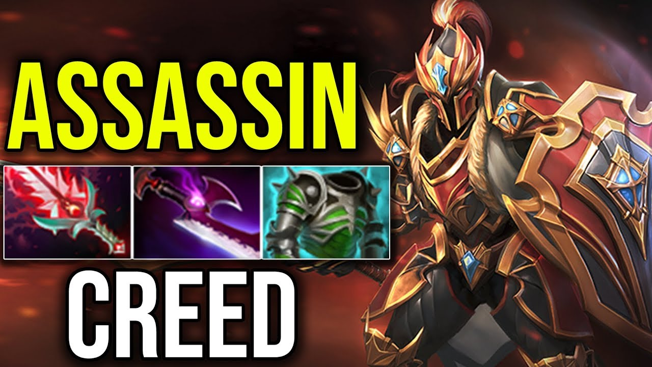 Dragon Knight Assassins Creed Build Silver Edge By Meracle   Gameplay Dota  Highlights