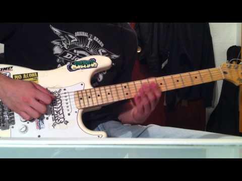 Champs Elysées (NOFX) How To Play guitar cover