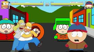 AN Mugen Request #1556: Homero VS Stan Marsh