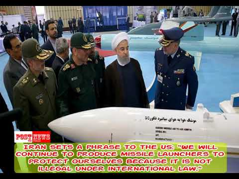 Iran sets a phrase to the US   We will continue to produce missile launchers to protect ourselves be