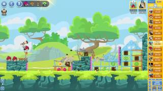 Angry Birds Friends Tournament ● LEVEL 6 ● 173 K HD ● Week 201 ●  POWER UP