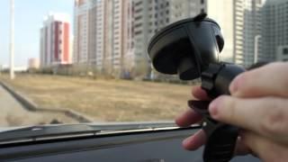 AvtoGSM.ru Автомобильный держатель AvtoGSM Car Holder 12(Держатель фиксируется на лобовом стекле автомобиля при помощи надежной вакуумной присоски. Вы можете само..., 2015-10-16T13:43:27.000Z)