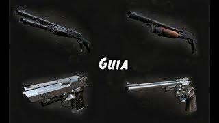 resident Evil 5  Gua De Armas  Armas Desbloqueables Espaol