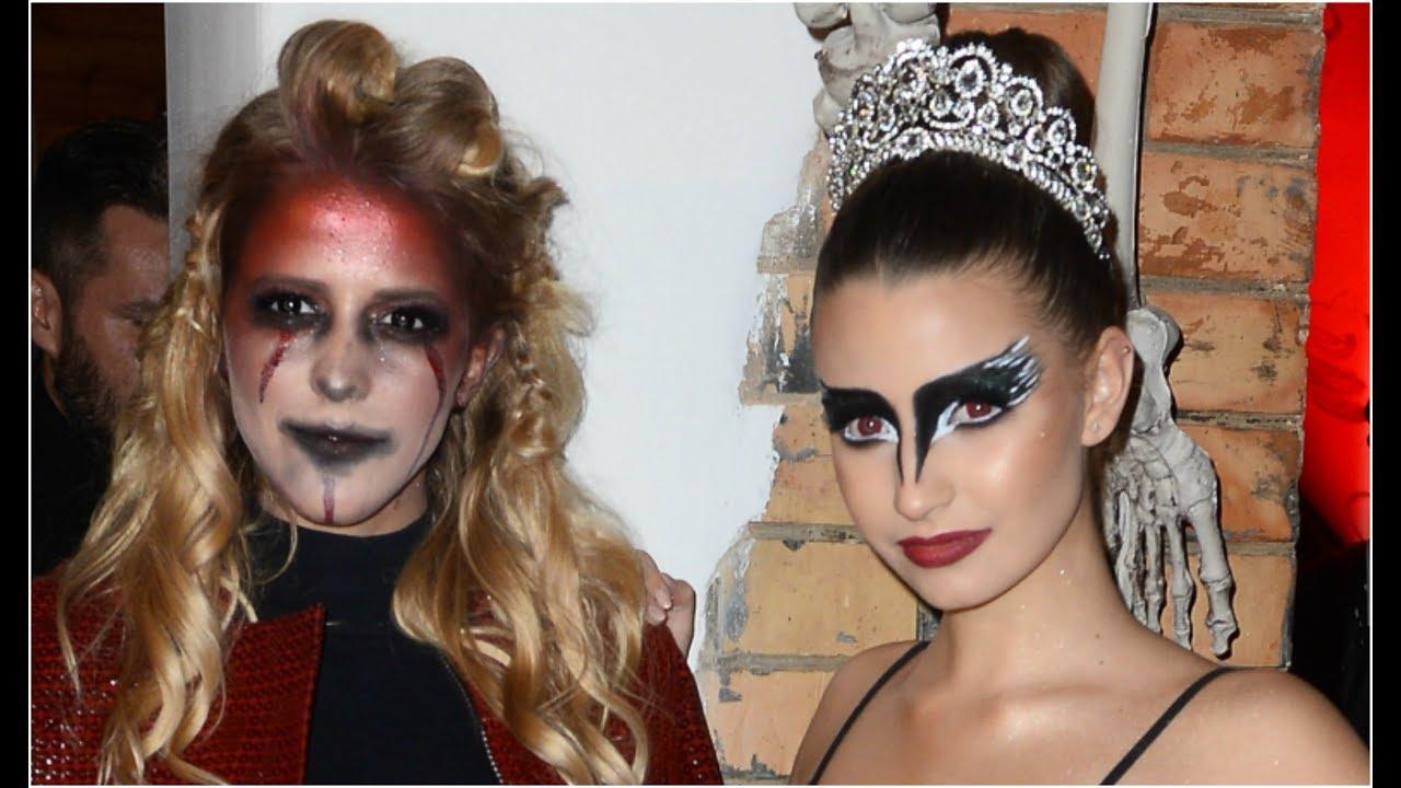 Jessica Mercedes w stroju diablicy i Wieniawa jako księżniczka ciemności na halloween! [DDTVN]
