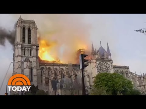 Notre Dame Cathedral Fire Fully Extinguished | TODAY