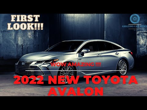 FIRST LOOK!!!! NEW 2022 TOYOTA AVALON LIMITED Interior & Exterior