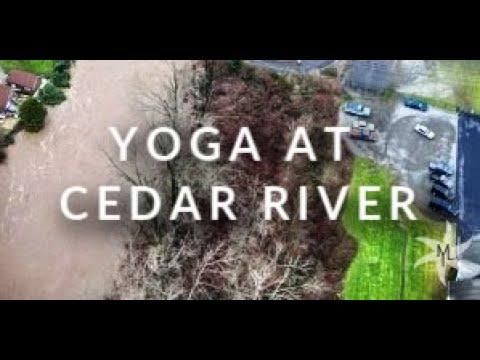 Target Zone Yoga Training at Cedar River Park with Elaina Green 🌅