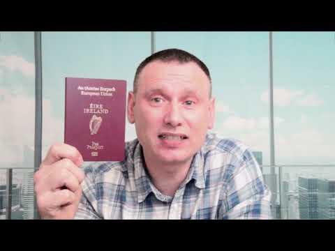 How I Applied For My First Irish Passport  ( Passport Online Www.dfa.ie )