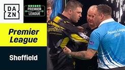 Schon wieder! Auseinandersetzung zwischen Gerwyn Price und Gurney  | Premier League of Darts | DAZN