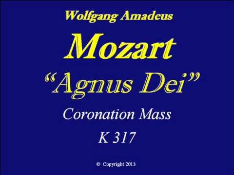 Mozart-Agnus Dei-K317