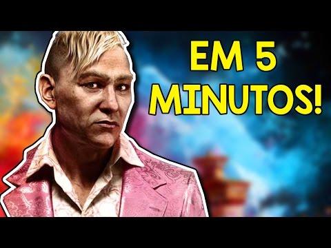 ZERANDO FAR CRY 4 EM 5 MINUTOS! !SPOILERS