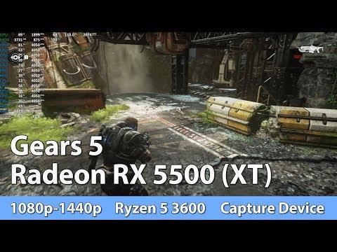 Radeon RX 5500 (XT) Review Gears 5