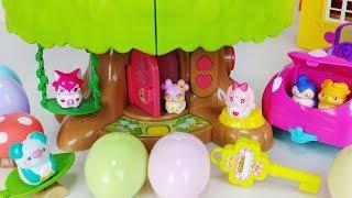 Egg Angel CocoMing Swing house and car toys Baby doll play 에그엔젤 코코밍 그네 하우스와 아기인형 자동차 장난감 놀이 - 토이몽
