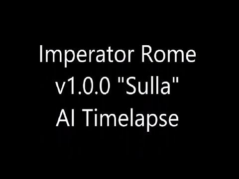 Imperator Rome Timelapse 1.0 Sulla Full Map |