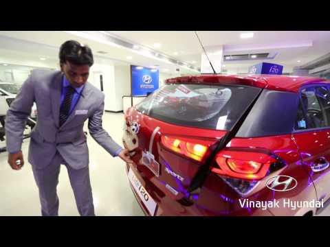 Vinayak Hyundai i20 Car Demo