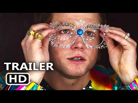 ROCKETMAN Trailer # 2 (NEW 2019) Taron Egerton, Elton John Biopic Movie HD