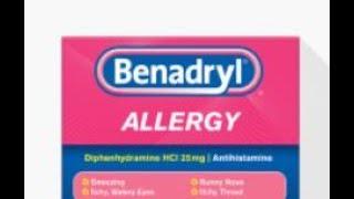 Benadryl dangerous side effect
