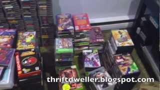 Mega Video Game Collection Shelf Revamp