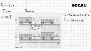 Упр 12.3 - Физика 9 класс Пёрышкин