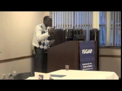 Shalem Coulibaly Sub Saharan Africa, Globalization, and Antisemitism (Part One) Fordham