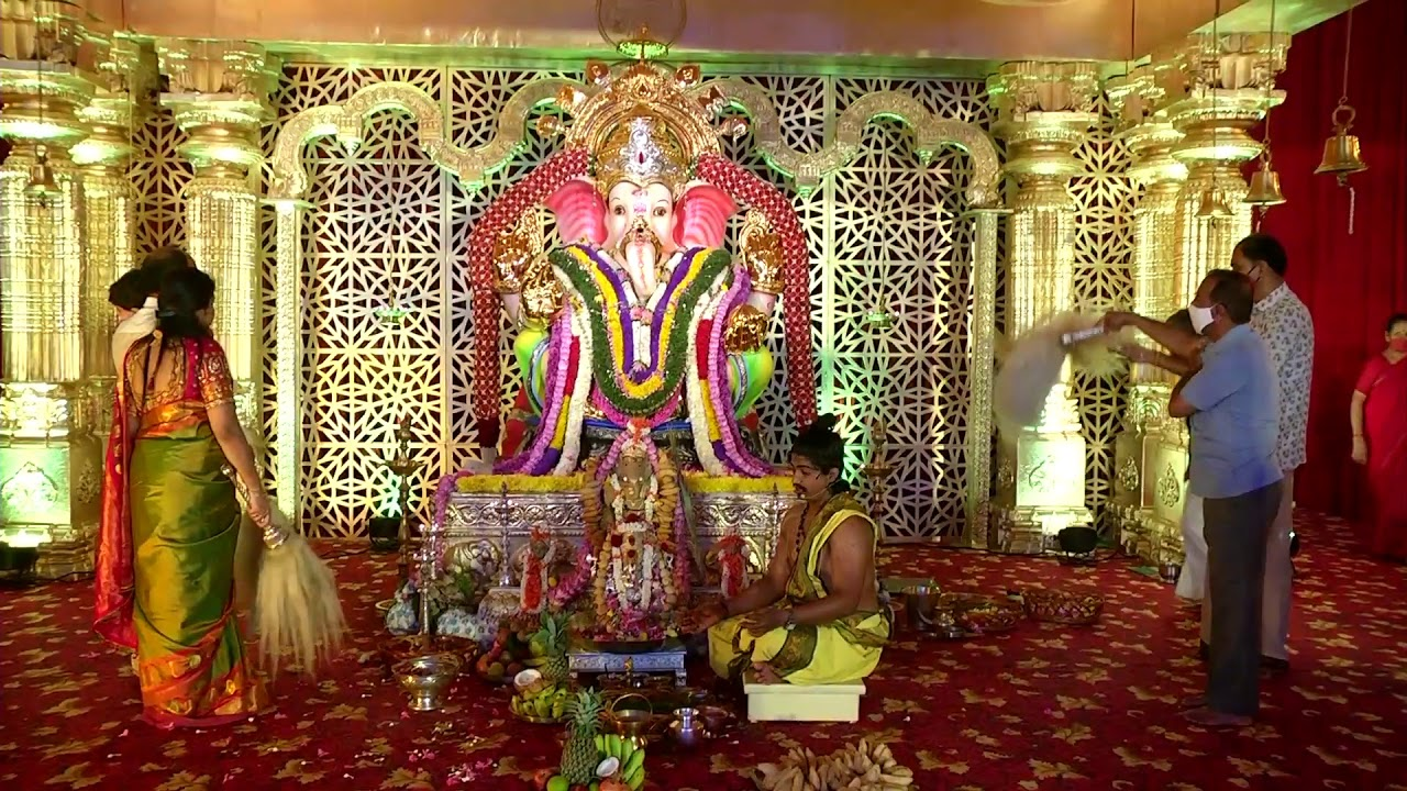 LIVE Maha Ganapathi Pooja @ 58th Bengaluru Ganesh Utsava