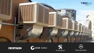 Empresas que han instalado sistemas de enfriamiento evaporativo