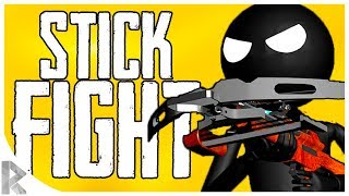 FUNNY Action! - PHYSICS Based Arena Fighting! -Stick Fight: The Game Gameplay #2