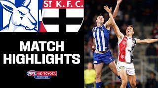 North Melbourne v St Kilda Highlights   Round 16, 2019   AFL
