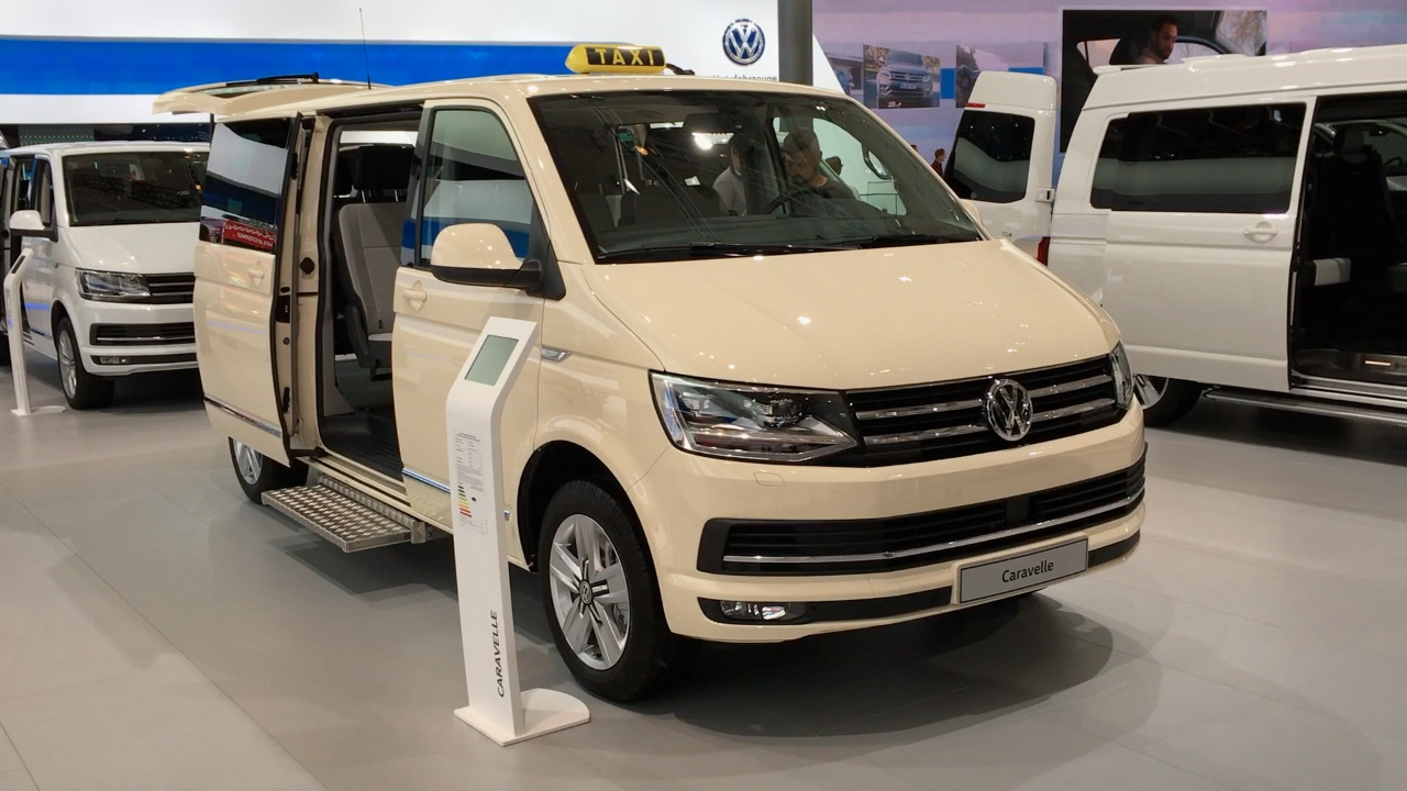 Volkswagen Caravelle Taxi 2017 In Detail Review Walkaround Interior Exterior