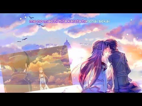 Sword Art Online - Yume Sekai (Haruka Tomatsu) karaoke