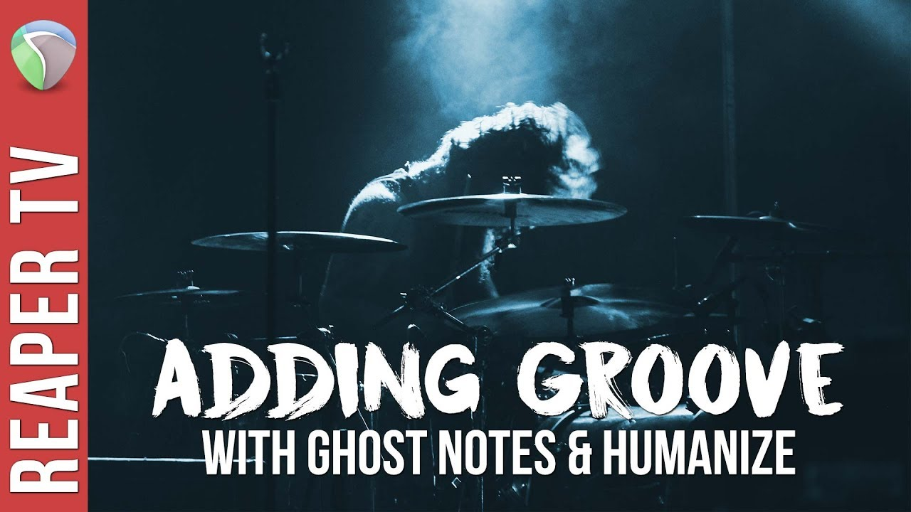 Midi Drums: Adding Groove With Ghost Notes Tutorial - Reaper TV