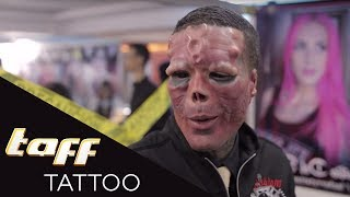 KRASSE Freak Show! - Die Tattoo Convention Caracas | taff Tattoo | ProSieben