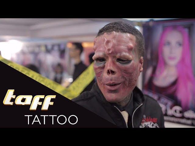 KRASSE Freak Show! - Die Tattoo Convention Caracas | taff Tattoo | ProSieben